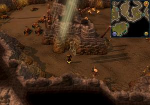 Scan clue Fremennik Slayer Dungeon in passage between pyrefiend and basilisk chambers