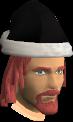 Black Santa chathead