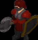 Black guard berserker female old