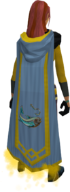 Fishing master cape equipped