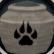 Fragile hunter urn (full) detail