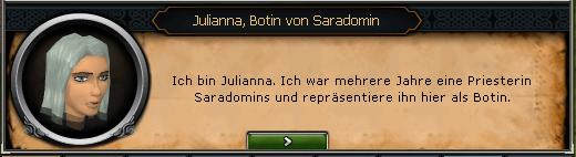 Julianna-Botin von Saradomin