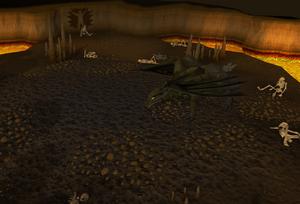 O Exterminador de Dragões detalhe
