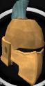 Profound decorative helm chathead