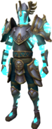 Stormborn Armour equipped