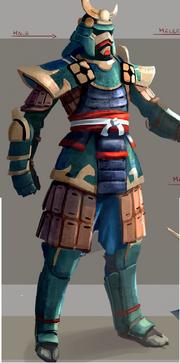 Tetsu armour concept art