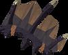 Tyrannomastyx hide detail