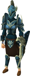 Armadyl armour set (sk) equipped