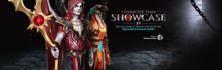 Character Team Showcase 4 head banner