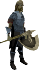Fortress guard (halberdier)