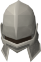 Iron full helm detail