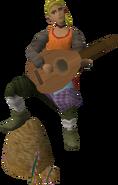 Musico da guilda dos pescadores