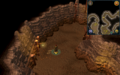 Scan clue Fremennik Slayer Dungeon in passage north of pyrefiend chamber.png