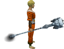 Staff of Sliske (Third Age) equipped