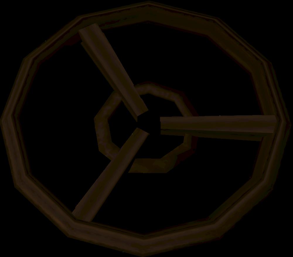 Valve wheel (A Shadow over Ashdale) detail