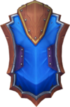 Wizard shield detail