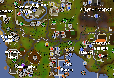 Old Rs Map - Design Templates