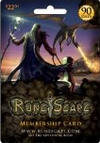 90 day RuneScape Membership Card