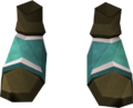 Dragonstone boots detail
