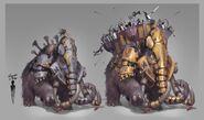 Elite Mobs concept art - Mammoth