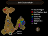 Evil Chicken's Lair map