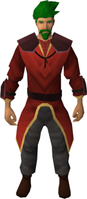 Firemaker's costume (male) equipped