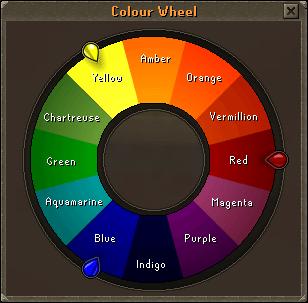 FileGlaze Colour Wheel Interface