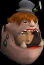 Ogre infiltrator mask chathead (female)