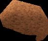 Peach afro detail