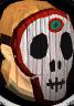 Skull mask chathead