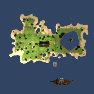 Tavia's island map