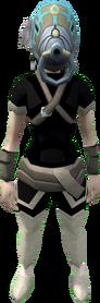 Akkorokamui orokami mask equipped