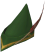 Elite Robin Hood hat detail