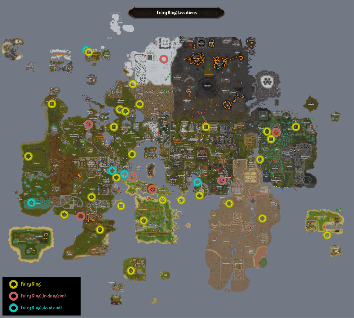 Fairy Ring Map