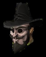 Máscara e Chapéu Revolucionário