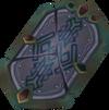 Restored shield detail