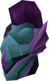 Rune full helm (Ancient) detail