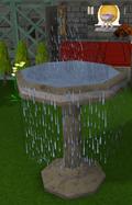 Small fountain detail