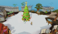 Varrock square christmas 2014