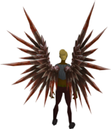 Bloodblade wings equipped