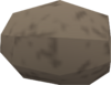 Raw cave potato detail