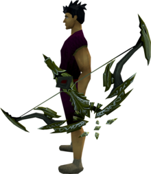 Seren godbow (barrows) equipped