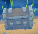 Treasure chest decoration