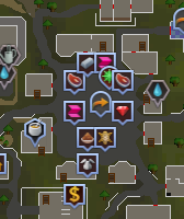 Ardougne market map