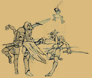 Arrav tegen Goblins