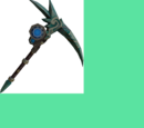 Augmented crystal pickaxe