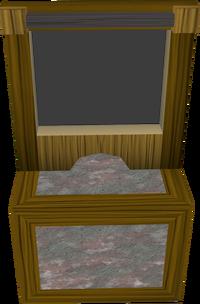 Bank booth