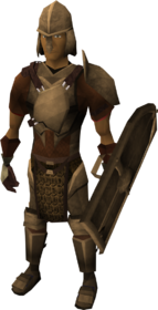 Bronze armour set (lg) equipped
