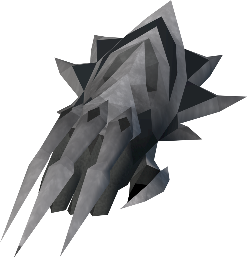 The Chaotic Claw Is A Dragon Enhanced With 5 Spikes It Requires 80 Attack To Wield Like All Other Weapons