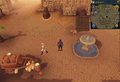 Compass clue Nardah next to the fountain.png